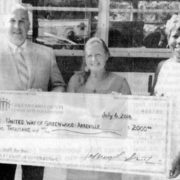 Greenwood County Community Foundation awarded a $2,000 Youth and Education Grant to the United Way of Greenwood and Abbeville Counties for the purchase of 550 book bags for its annual Stuff the Bus campaign. This project helps purchase and distribute school supplies to children in need. This year's event is from 10 a.m. – 1 p.m. at Magnolia Park Aug. 13.